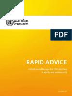 ART - Rapid Advice- Adults and Adolescents - 19dec09