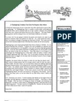 November Newsletter 2010
