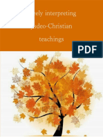 Freely Interpreting Judeo-Christian Teachings