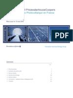 Pwc Premier Rapport Pwc de l Industrie Photovoltaique