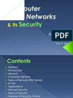 Computer Network & Security