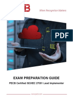 Pecb Iso 27001 Lead Implementer Exam Preparation Guide