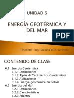 Unidad 6 Geotemica