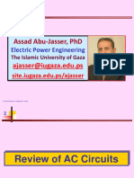 Review of AC Circuits IE