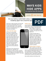 Ways Kids Hide Apps on Android and IOS