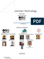 The overview of Blockchain