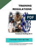 technical drafting training regulations