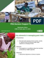 Washington Otieno Presentation on Pest Risk Analysis Tool at Commission on Phytosanitary Measures, Rome 2019