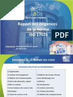 Formation Rappel des exigences de la norme 17025.pdf