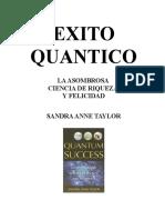 Exito cuántico. Sandra Anne Taylor