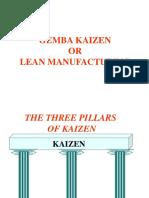 Gemba Kaizen or Lean Mfg.