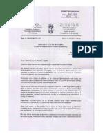 Poverenik za informacije Sindikatu srpske policije, 12. 4. 2012.