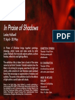In Praise of Shadows Exhibition