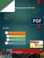 Manajemen Strategi Pada Alfamart Dan Indomaret