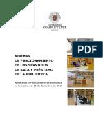 Normas Biblioteca UCM