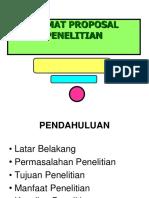 1-Format Proposal Penelitian