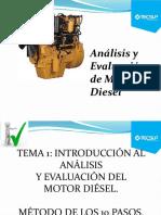 Análisis y Evaluación de Motores Diesel - Tema 01
