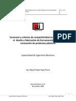Escenarios y Criterios Competitividad Mexico