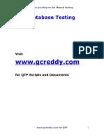 Database+Testing