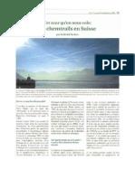 Cet Azur Qu on Nous Vole Les Chem Trails en Suisse Par Gabriel Stetter 2005