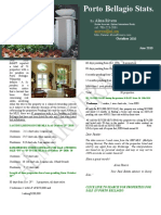 Porto Bellagio Monthly Newsletter October 2010