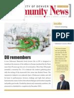 November 2010 Community News