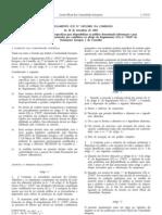 Generos alimenticios - Legislacao Europeia - 2001/09 - Reg nº 1852 - QUALI.PT
