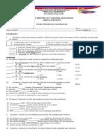 English 10 Exam 3 Rd Grading