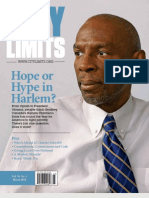 Hope or Hype in Harlem?  City Limits Magazine