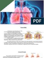 Medicatia Antiastmatica