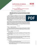Normativa de Pesca Continental en Bizkaia 2019