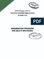 03-DTR-B.C..2.3.1-Dénomination provisoire des sols et des roches .pdf
