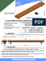 Manual Do Usuário Giroled 1,2m - R3