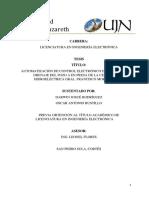TESIS AUTOMATIZACION DE CONTROL DE BOMBAS, POZO A.pdf