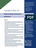 Reforming Women Prisons