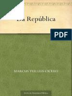 Da Republica - Marcus Tullius Cicero