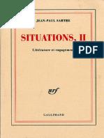 1948 - Situations II - Jean-Paul Sartre.pdf