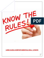 Regolamento Community F&P