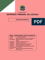 STJ - REsp Nº 1382223 - MG [Íntegra do Inquérito]