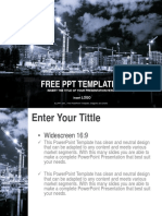Building in Process Industry PPT Templates Widescreen