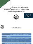 Business Analytics - Details