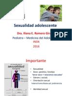 03 - Sexualidad Adolescente 2016