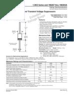 1.5KE Series 1N6267 a 1N6303A - Vishay [TransZorb Transiente Voltage Suppressors]