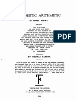 Taylor Theoretic Arithmetic