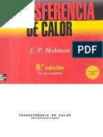 Holman Transferencia de Calor McGrawHill