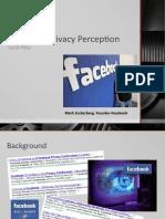 Facebook Privacy Perception