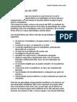 Lista de características del ABP