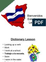 Spanish at Church Lesson 5
