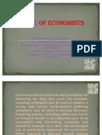 Roles of Economists