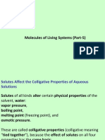 Molecules of the Living Systems Part 5